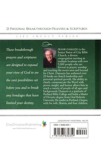 21 Personal Breakthrough Prayers and Scriptures