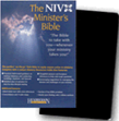NIV Minister's Bible - Black